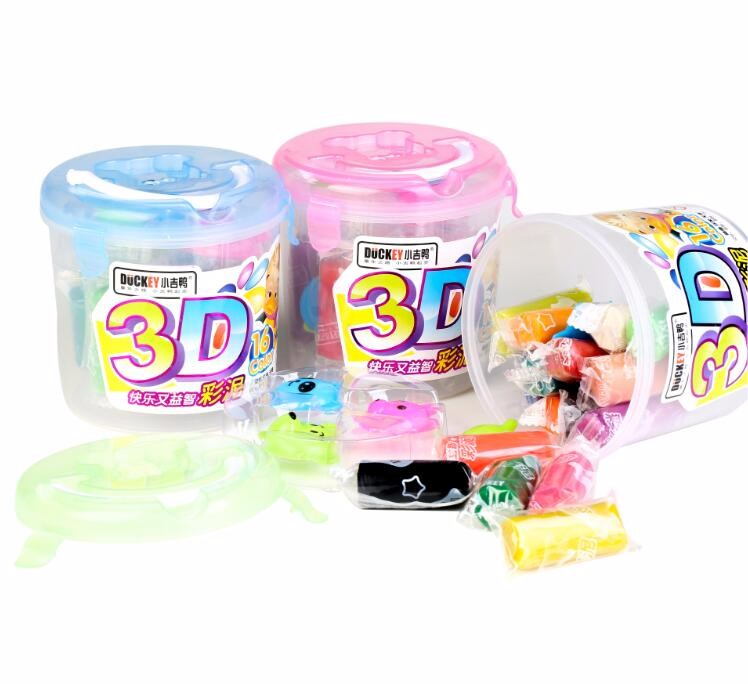 EN-71 Certificated Safety high quality non-toxic 16 colors polymer clay play dough for Kids DIY