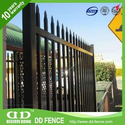 Metal Fence Poles / Cheap Iron Gates / Fence And Gate