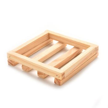 1Pc Wood Soap Tray Holder Dish Box Case Bath Shower Plate Bath Shower Tool Bathroom Accessory Relaxation