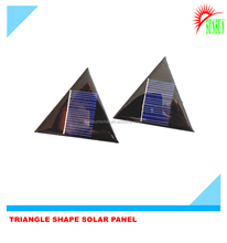 Epoxy resin mini triangle solar panel