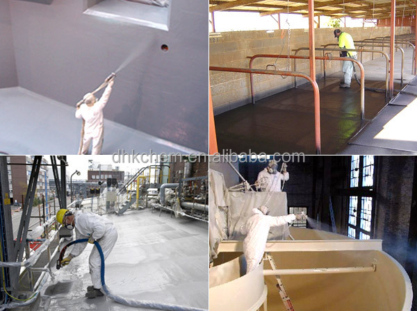 Polyurea Elastomer Waterproofing coating Material