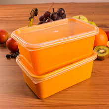 1000ml Disposable PP plastic takeaway food container
