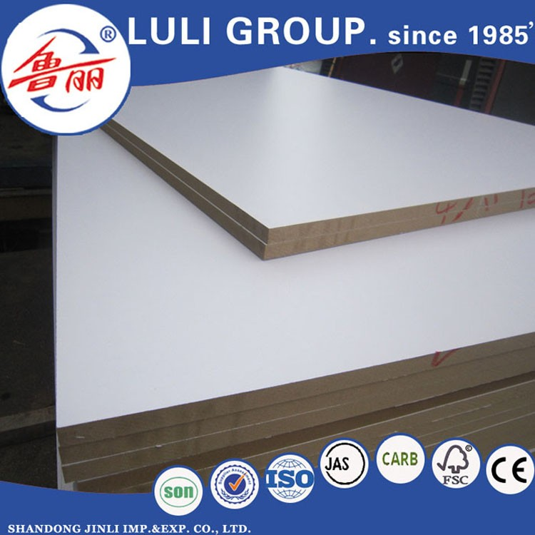 cheap mdf board/raw mdf/melamine mdf price from luli group