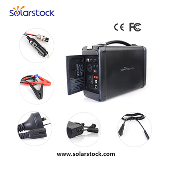 Convenient Carrying Solar Power Supply with LI-ion Battery 500W