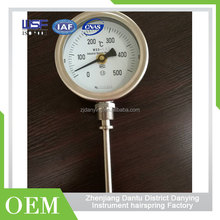 Pressure Cooker Thermometer Water Gauge Mini Air Pressure Gauge