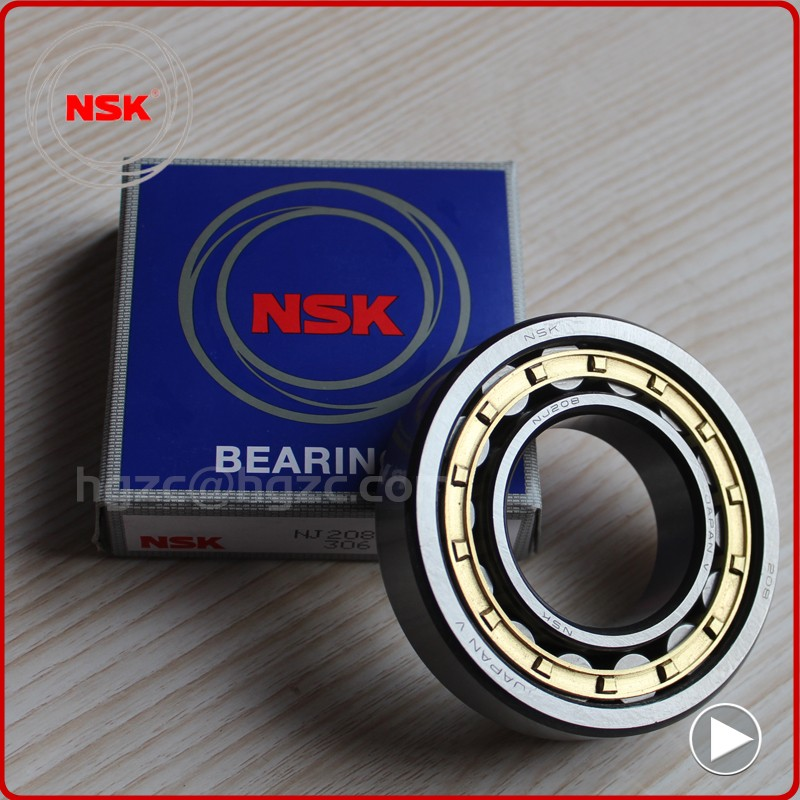 Japan bearing NSK cylindrical roller bearings NU204