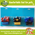 biodegradable customized dog bag with dispenser