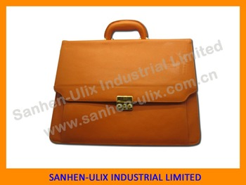 PU Business bag with shoulder belt