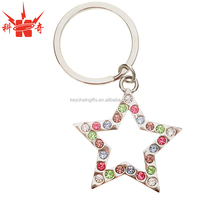 new design keyring starfish custom metal keychain with custom design