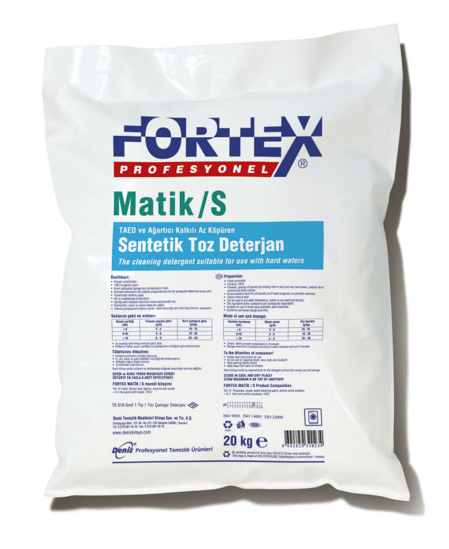 Fortex Matic / S Professional Synthetic Detergent Powder