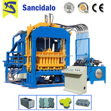 QT4-15 automatic hydraulic concrete hollow core slab machine