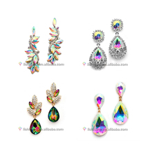 Wonderful style zircon inlaid earring fashion earring india earring for women