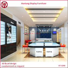 Customized Furniture for Optical Shop, High Quality Optical Shop Furniture Design with Chairs