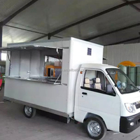 Recyclable! High quality mobile Food CartTrailer Truck Van for Sale China Supply