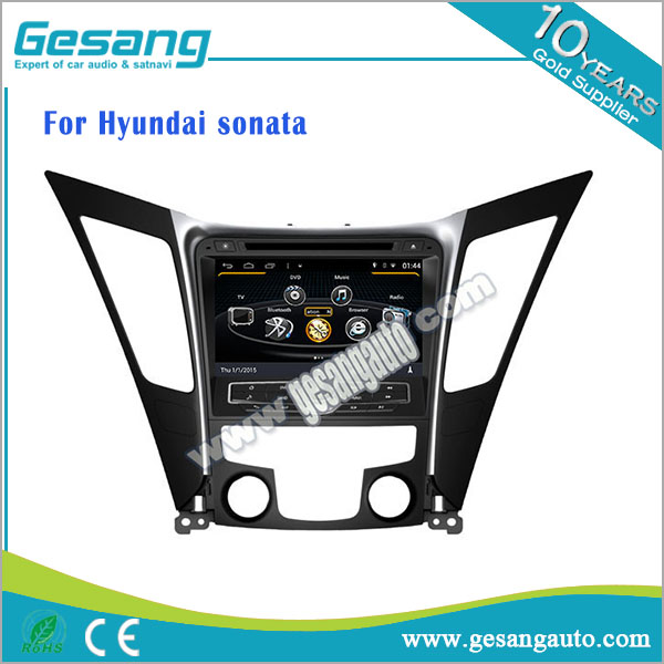car dvd player for Hyundai Sonata Android 6.0 car audio radio with bluetooth gps navigation