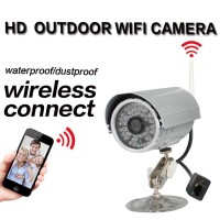 Wireless video camera 1 MP 2 pcs Array Waterpoof Security new cctv outdoor camera top 10 cctv camera factory china