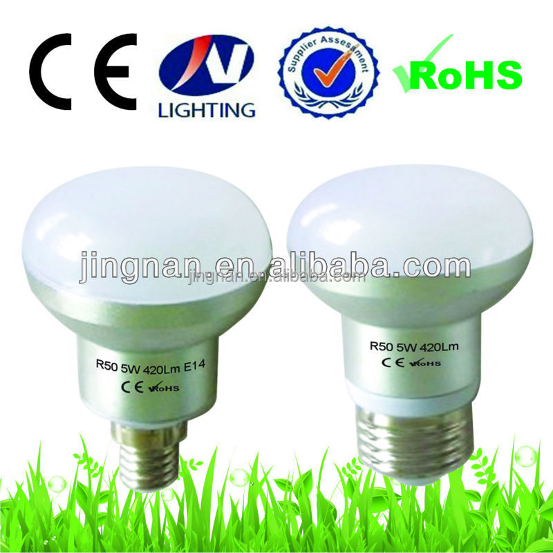 Made In China 2 years warranty R50 LED Bulb light AC110-240V 5w led bulbs e14 R50 ,CE, RoHS Certificate