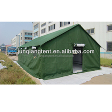 Large military heavy duty canvas tent