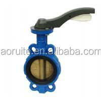 150LB Ductile Iron wafer Type C95400 Disc Aluminium Bronze Butterfly Valve