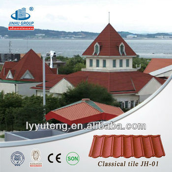 Low Prices Stone Coated Metal roofing shingles prices