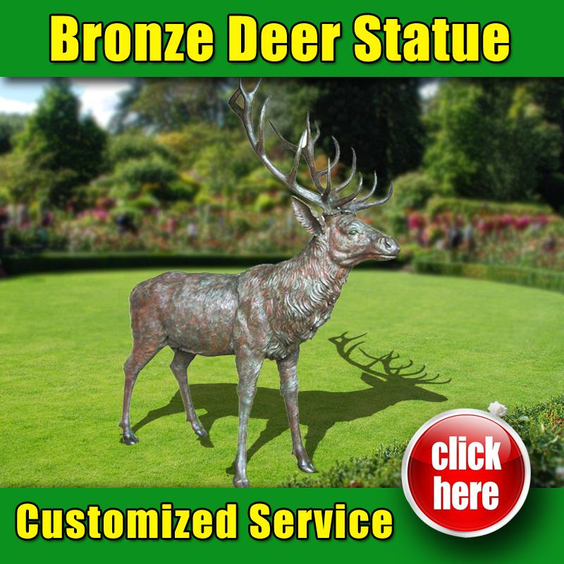 98 Designs metal deer statues with High Quality