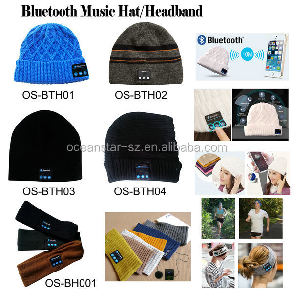Bluetooth Beanie Hat with Headphone