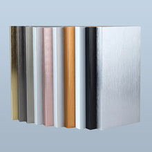 Decorative Waterproof Brush Aluminum Skirting Board Baseboard For Wall Protection