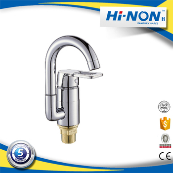New cheap chrome polished spring kitchen sink faucet