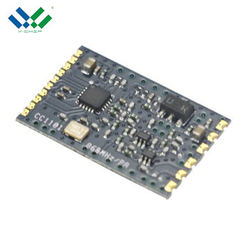 High Power 1KM 20dbm CC1101 PA Digital FSK TX RX 433MHz 868MHz Module for Remote Control