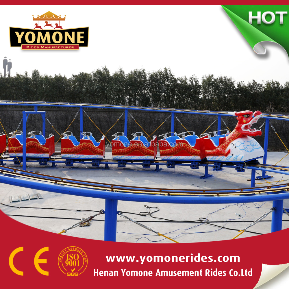Very popular kids amusement rides sliding dragon roller coster theme park games