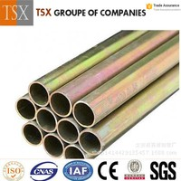 Electrical wire conduit hot Galvanized steel pipes scaffolding Steel Pipe gi steel pipe