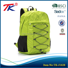 Ultra-durable unisex light green multifunction soft backpack with nylon lining