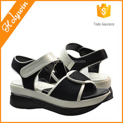2016 Latest Shoes Design Summer Running casual women sport sandal slimming shoes