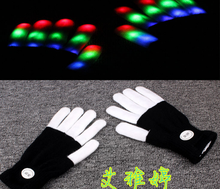 cheap wholesale Event Party Item Christmas Occasion led magic gloves