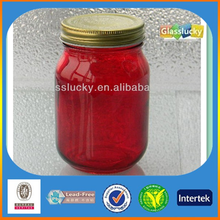 Glasslucky honey jars wholesale