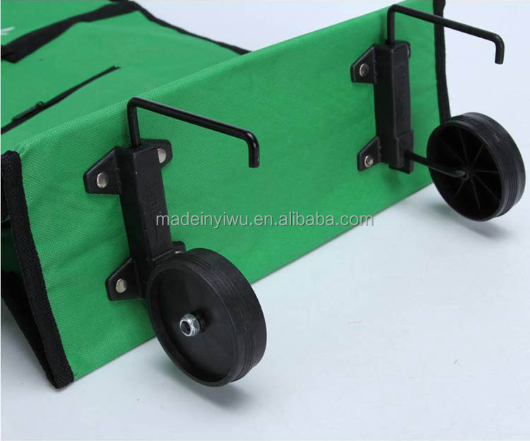 Promotion foldable shopping trolley bag