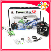 WL Toys V930 Newest 4CH 2.4G RC Helicopter 4CH Power Star X2 Brushless Flybarless rc helicopter