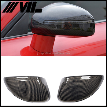 Auto Replacement Carbon Fiber Side Mirror Cover for Audi R8 07-11
