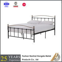 King bed antique metal beds contemporary style bedstead