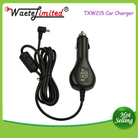 Wholesale factory direct price mini 5pin car charger for smartphone GPS with soft-cable