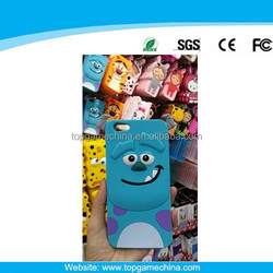 Silicone mobile phone case for iphone 6 plus Sulley series case