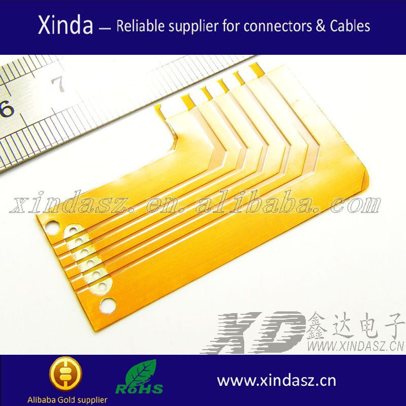 Customized /OEM Multilayer Flexible PCBs wholesale multilayer fpc pcb LVDS FPC cable
