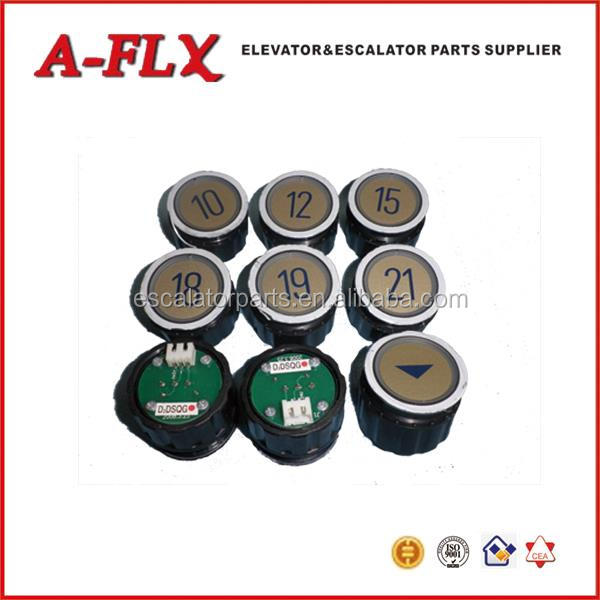 M Type and D Type Elevator Push Buttons, Elevator Parts