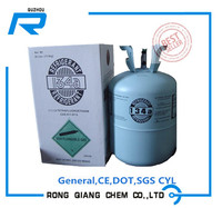 Refrigerant gas R134a with 99.9% purity