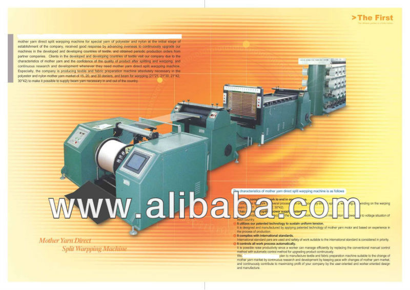 direct splitting warpping machine