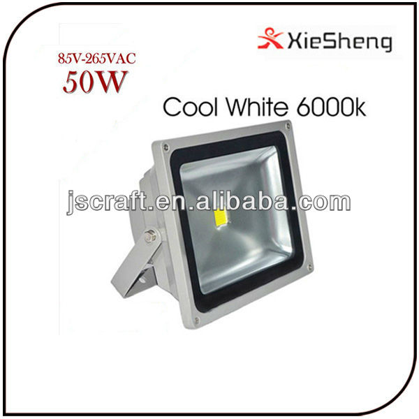 Outdoor 2 warranty 86-265V 6000k IP68 Epistar high efficiency 50w led flood <strong>light</strong>