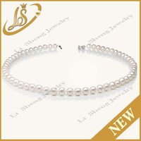 Freshwater pearl charming necklace aaa pearl natural pearl price