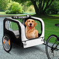 2017 NEW Pet Bike Trailer Dog Cat Bicycle Pram Stroller Jogger Foldable(PT004)