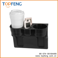 car coffee cup holder/Seat Wedge Cup Holder/Car Valet
