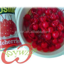 Canned fresh cherry fruit